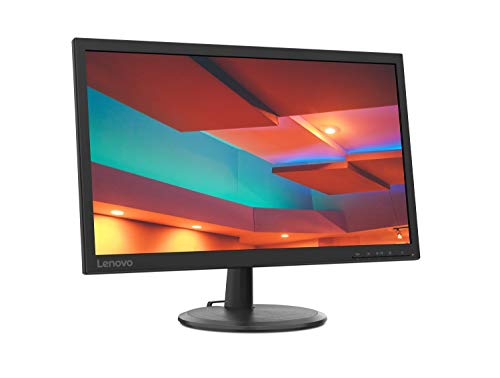 Lenovo D22-20 54,6 cm (21,5 Zoll, 1920x1080, Full HD, 75Hz) Monitor (VGA, HDMI, 5ms Reaktionszeit) schwarz