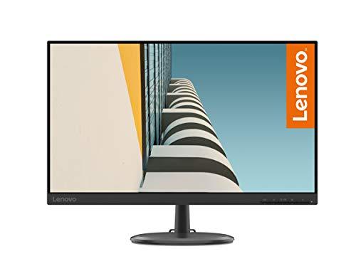 Lenovo C24-25 60,5cm (23,8 Zoll, 1920x1080, Full HD, 75Hz) Monitor (VGA, HDMI, 4ms Reaktionszeit) schwarz