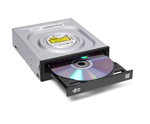 Hitachi-LG GH24 Interner 24 x Super Multi-DVD-Brenner, DVD Laufwerk mit M-DISC Unterstützung, Silent Play, Jamless Play, Windows 10 kompatibel, Software inklusive