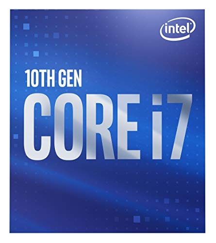 Intel Core i7-10700 Desktop-Prozessor 8 Kerne bis zu 4,8 GHz LGA 1200 (Intel 400 Series Chipsatz) 65 W, BX8070110700