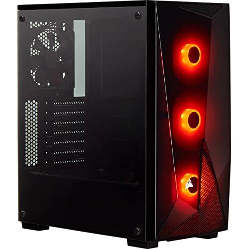 Corsair Spec-Delta Carbide Series RGB Mid-Tower ATX Gaming Gehäusee (mit gehärtetem Glas) schwarz