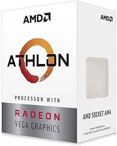 AMD YD200GC6FBBOX Athlon 200GE Retail AM4 Dual Core 3, 30 GHz CPU - Schwarz