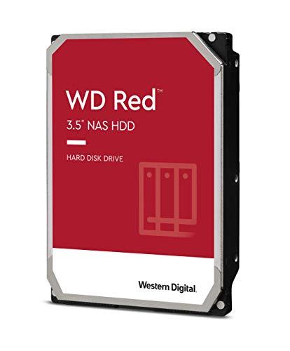WD Red interne NAS-Festplatte 6 TB (3,5 Zoll, NAS Festplatte, 5400 U/min, SATA 6 Gbit/s, NASware-Technologie, 256 MB Cache)