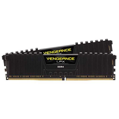 Corsair Vengeance LPX 32GB (2x16GB) DDR4 3000MHz C16 XMP 2,0 High Performance Desktop Arbeitsspeicher Kit, Schwarz
