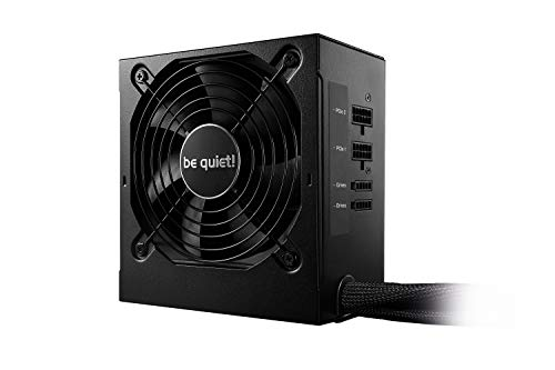 be quiet! System Power 9 ATX PC Netzteil 500W cm | BN301 schwarz mit Kabelmanagement