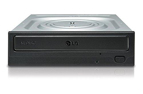 LG GH24NSD1 24x8x16x DVD+RW 24x6x DVD-RW 16xDVD+DL 8xDVD-DL 5xDVD-RAM SATA DVD-Brenner RTL schwarz ohne SW