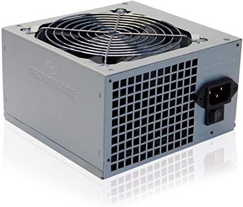 Tecnoware Power Systems Free Silent Netzteil ATX 500 W Real PC Lüfter 12 cm 2 x SATA 1 x 24 Pole, 1 x 1 2 V, 4 + 4 Pole, 2 x Molex, 1 x Floppy, Einzelpackung