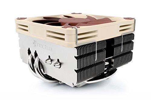 Noctua NH-L9x65 SE-AM4, Premium Low-profile CPU Kühler mit 92mm Lüfter für AMD AM4 (Braun)