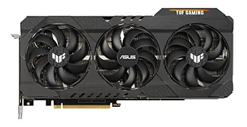 ASUS TUF GeForce RTX 3070 TI 8GB OC Version Gaming Grafikkarte (Nvidia Ampere, PCIe 4.0, DLSS, Raytracing, GDDR6 Speicher, 2x HDMI 2.1, 3x DisplayPort 1.4a, TUF-RTX3070TI-O8G-GAMING)