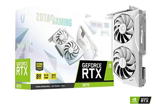 ZOTAC Gaming GEFORCE RTX 3070 Twin Edge OC White Edition 8GB GDDR6