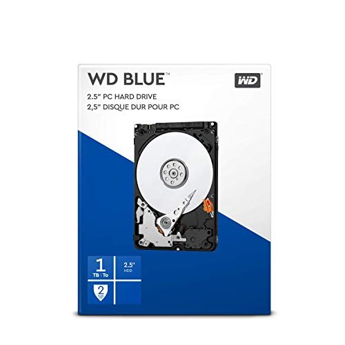 WD Blue 1TB 2.5 Zoll Interne Festplatte - 5400 RPM Class, SATA 6 Gb/s, 128MB Cache