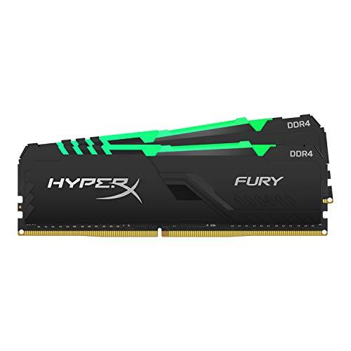 HyperX Fury HX426C16FB3AK2/16 Arbeitsspeicher DIMM DDR4 16GB (Kit 2x8GB) 2666MHz CL161Rx8 RGB