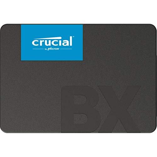 Crucial BX500 120GB CT120BX500SSD1(Z)-bis zu 540 MB/s Internes SSD (3D NAND, SATA, 2,5-Zoll)
