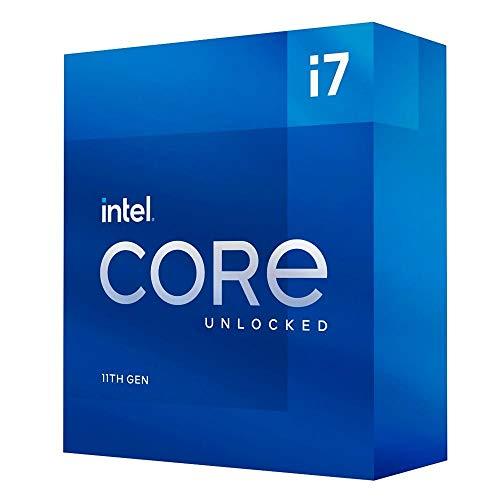 Intel Core i7-11700K 11. Generation Desktop Prozessor (Basistakt: 3.6GHz Tuboboost: 4.9GHz, 8 Kerne, LGA1200) BX8070811700K