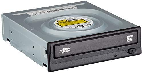 Hitachi-LG GH24NSD5 Interner Super Multi-DVD-Brenner mit 24-facher Geschwindigkeit und M-Disc Support, DVD+/-R, CD-R, DVD-RAM und Windows 10 kompatibel (ohne Software)