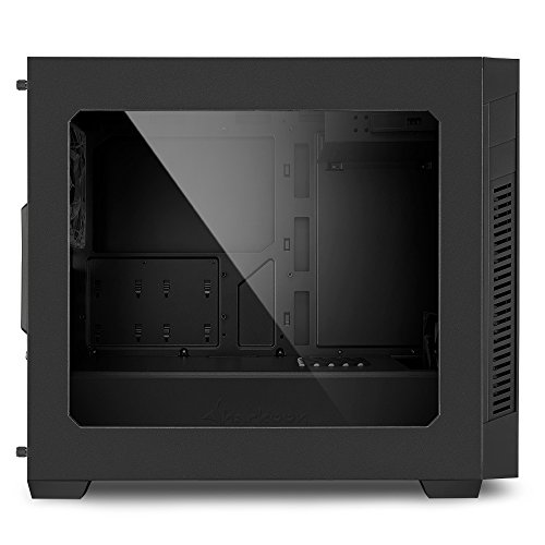 Sharkoon S1000 Window micro ATX Gehäuse, schwarz