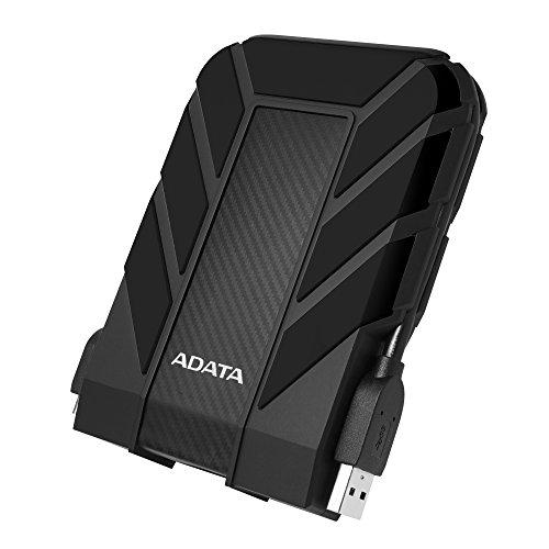 ADATA HD710 Pro - 1 TB, externe Festplatte mit USB 3.2 Gen.1, IP68-Schutzklasse, schwarz,langlebig, wasserdicht und staubdicht mit militärischer Zähigkeit in mehrschichtigen Festplatten