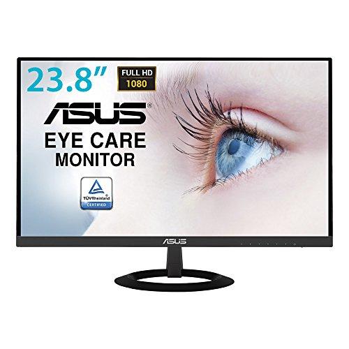Asus VZ249HE 68,58 cm (24 Zoll) Eye-Care Monitor (Full HD, VGA, HDMI, 5ms Reaktionszeit) schwarz