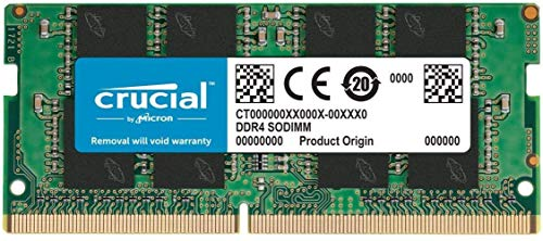 Crucial RAM CT16G4SFRA266 16GB DDR4 2666 MHz CL19 Laptop-Speicher