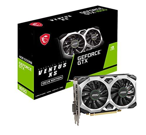 Nvidia GeForce GTX1650 (1620 MHz, 4 Go GDDR6, 12000 MHz, PCI Express 3.0 16x)