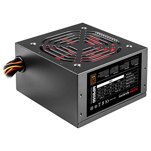 Mars Gaming MPB550, PC-Netzteil 550W ATX, 80Plus 230V Bronze 90%, SilentRPM 10dB