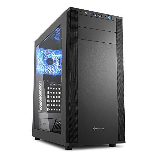 Sharkoon M25-W 7.1 PC Gehäuse schwarz