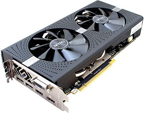 Sapphire 11266-14-20G Radeon RX 570 GDDR5 Nitro Grafikkarte 4GB schwarz