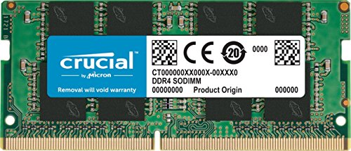 Crucial RAM CT4G4SFS6266 4GB DDR4 2666 MHz CL19 Laptop-Speicher
