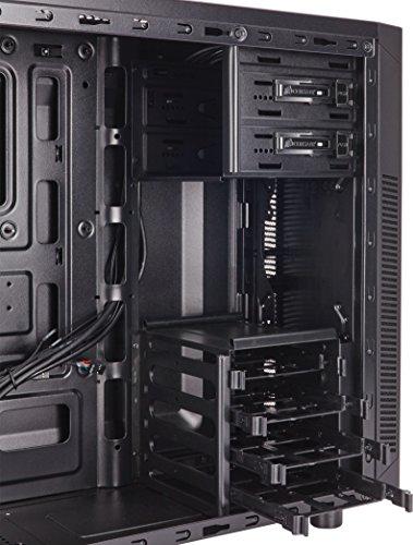 Corsair Carbide Series 100R PC-Gehäuse (Seitenfenster Mid-Tower ATX) schwarz