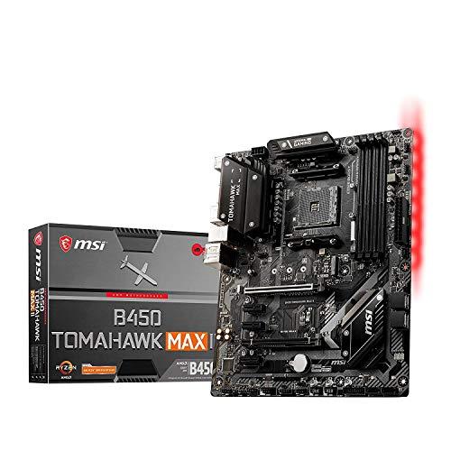 MSI B450 Tomahawk MAX II AMD AM4 DDR4 m.2 USB 3.2 Gen 2 HDMI ATX Gaming Motherboard