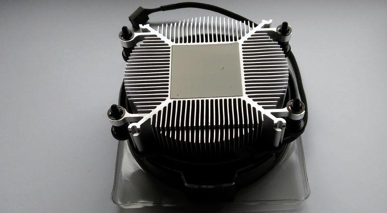 Ryzen CPU-Kühler von unten
