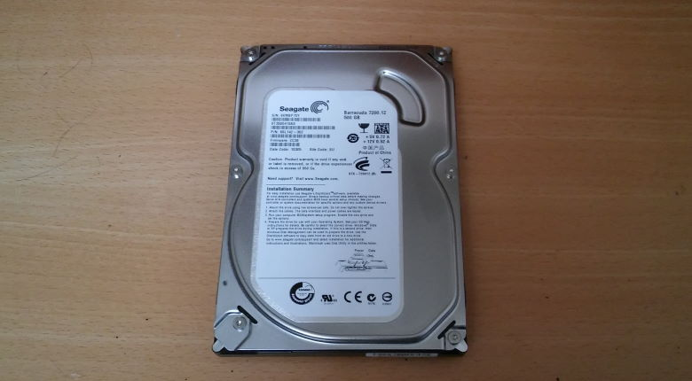 Seagate Festplatte 500GB