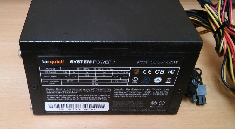 be quiet! system power 7 300 Watt