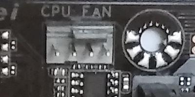 cpu lüfter anschluss