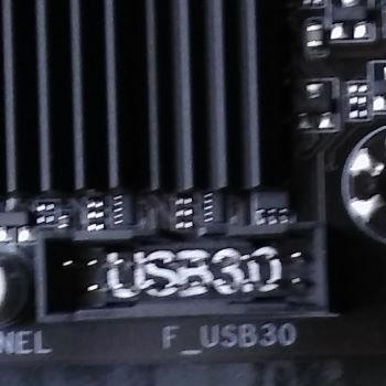 usb 3 auf dem mainboard